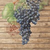 Grape Crate I Fine-Art Print