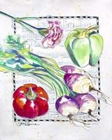 Kitchen Veggies I Fine-Art Print