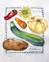 Kitchen Veggies II Fine-Art Print