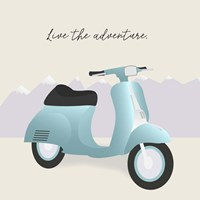 Two-Wheel Travel II Fine-Art Print