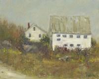 White Barn II Fine-Art Print