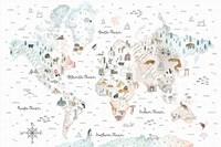 World Traveler I Fine-Art Print