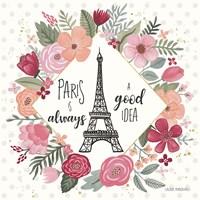 Paris is Blooming IV Fine-Art Print