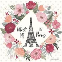 Paris is Blooming V Fine-Art Print