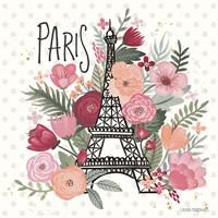 Paris is Blooming II Fine-Art Print