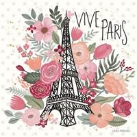 Paris is Blooming III Fine-Art Print