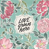 Live in Bloom V Fine-Art Print