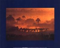 luc Manaud - Oasis de Fachi, Niger Fine-Art Print