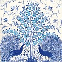 Peacock Garden VIII Fine-Art Print