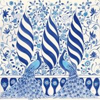 Peacock Garden V Fine-Art Print