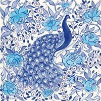 Peacock Garden III Fine-Art Print