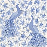Peacock Garden II Fine-Art Print