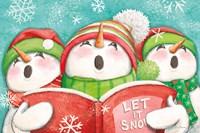 Let it Snow IV Eyes Open Fine-Art Print