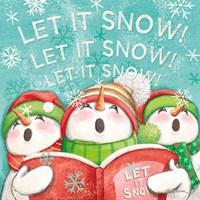 Let it Snow VIII Eyes Open Fine-Art Print