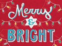 Merry and Bright v2 Fine-Art Print