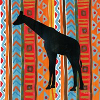 African Animal III Framed Print