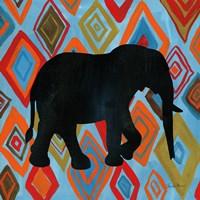 African Animal I Framed Print