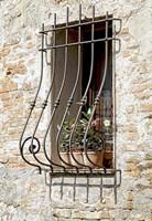 Ornate Window Grill Cetona Fine-Art Print