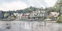 Boathouse Row 6 Fine-Art Print