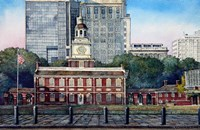 Independence Hall 3 Fine-Art Print