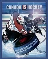 Canada is Hockey Fine-Art Print