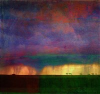 Horses Storm Abstract Fine-Art Print