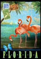 Florida Flamingoes Fine-Art Print