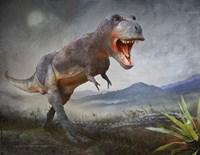 Gory Kill-Tyrannosaurus Rex Fine-Art Print