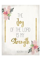 The Joy of The Lord Fine-Art Print
