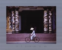Follower of Cao Dai, Tay Ninh Temple Fine-Art Print