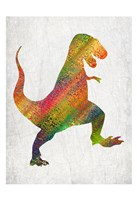 Bright Dino 1 Fine-Art Print