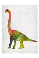 Bright Dino 2 Fine-Art Print