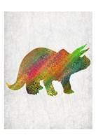 Bright Dino 3 Fine-Art Print
