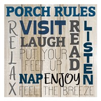 Porch Rules Fine-Art Print