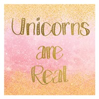 Unicorns are Real 2 Fine-Art Print