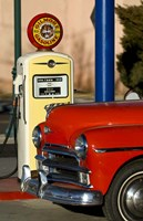 Old Car And Pump Fine-Art Print