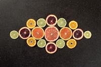 Citrus Drama III Fine-Art Print
