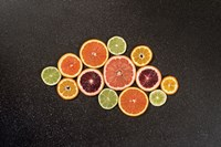 Citrus Drama I Fine-Art Print