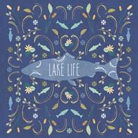 Otomi Lake V Dark Fine-Art Print