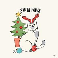 Santa Paws V Fine-Art Print