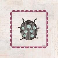 Ladybug Stamp Bright Fine-Art Print