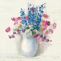 Ironstone Bouquet II Bright Fine-Art Print