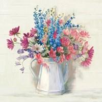 Ironstone Bouquet I Bright Fine-Art Print