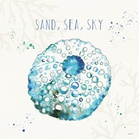 Deep Sea VII Framed Print