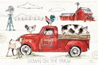 Down on the Farm II Fine-Art Print