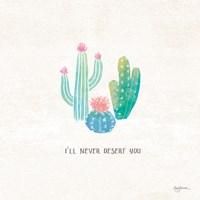 Bohemian Cactus VII Fine-Art Print