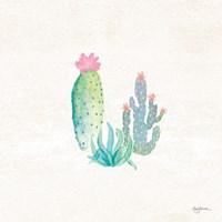Bohemian Cactus V Fine-Art Print