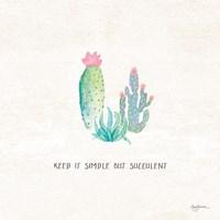 Bohemian Cactus IX Fine-Art Print