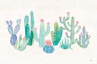 Bohemian Cactus I Fine-Art Print