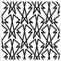 Intersezioni Di Baveri In Bianco E Nero Fine-Art Print